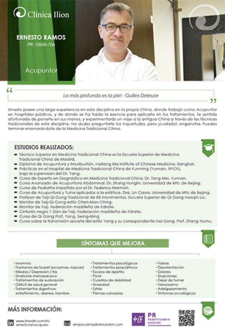 ERNESTO RAMOS_ACUPUNTOR CLINICA ILION_ACUPUNTURA VILLAVICIOSA DE ODON