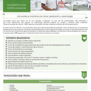 DRA. ELENA_ODONTOLOGA CLINICA ILION_DENTISTAS Y ORTODONCISTAS EN VILLAVICIOSA DE ODON